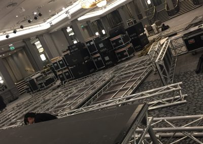 Grosvenor House Ballroom Equipment