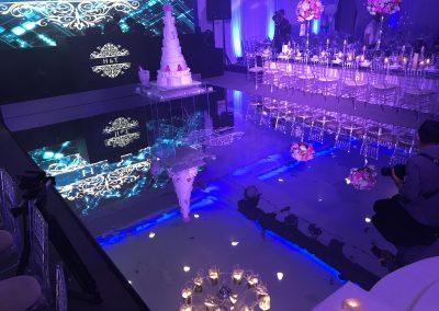 Hilton Syon Park Silver Setting