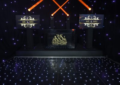 Ritzy Booth With 2 x Plasma Screens