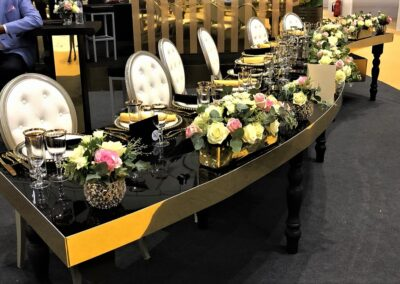 Black and Gold S Table 1
