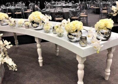 White S Table